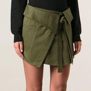 Isabel marant wrap skirt